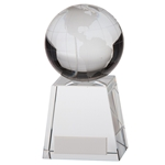 Crystal World Globe Atlas Trophies