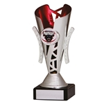 Silver and Red Presentation Cups