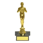 Oscar Style Achievement Trophies with Star Base