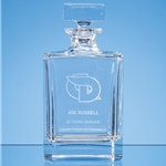 Lead Crystal Berlinetta Spirit Decanter