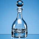 Bubble Base Round Wine Decanter
