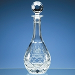 Blenheim Lead Crystal Panel Wine Decanter