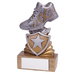 Resin Mini Shield Running Trophies