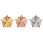 Metal 3D Star Pin Badges