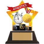 Acrylic Star Athletics Trophies