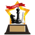 Acrylic Star Chess Trophies
