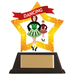 Acrylic Star Irish Dancing Trophies