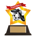Acrylic Star Football Trophies
