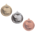 Typhoon Basketball Medals with Ribbons