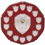 English Rose Annual Wooden Shields