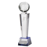 Crystal Legend Tower Football Trophies