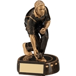 Lawn Bowls Male Figure Trophies