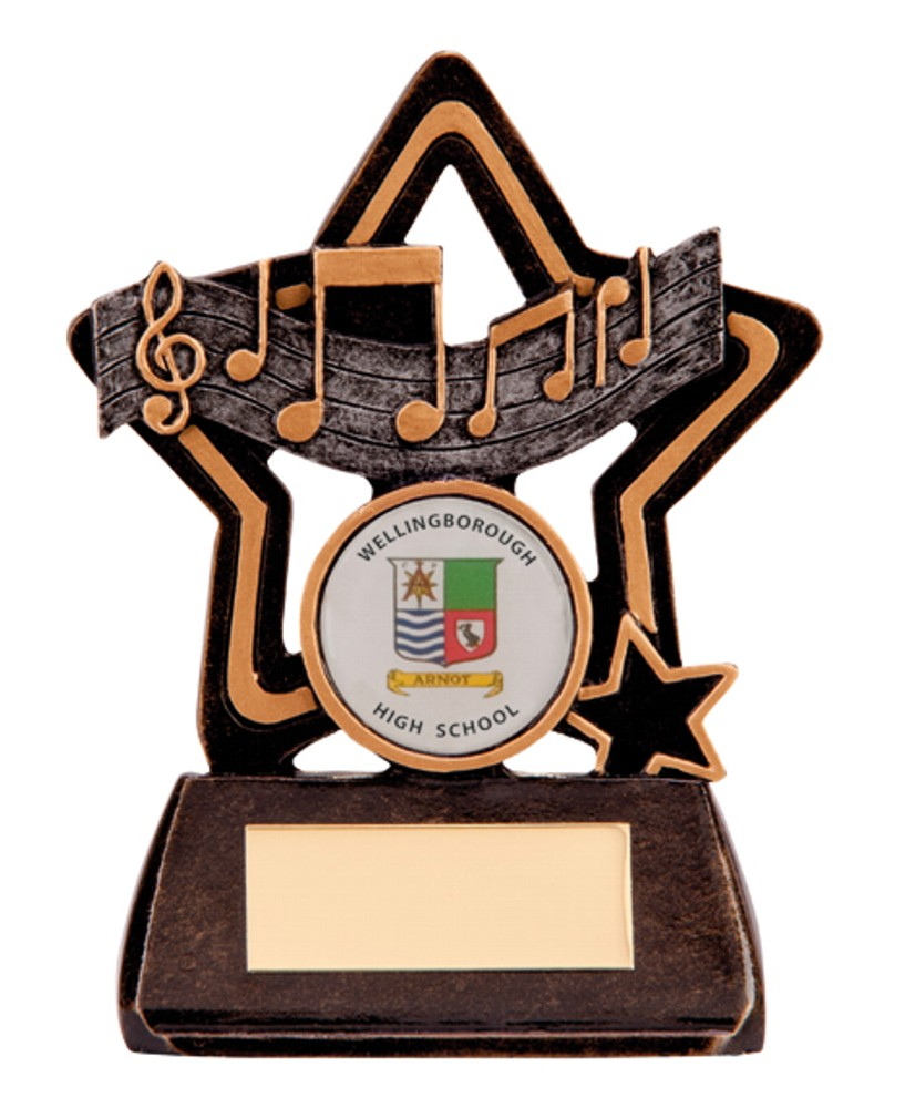 Music Little Star Trophies
