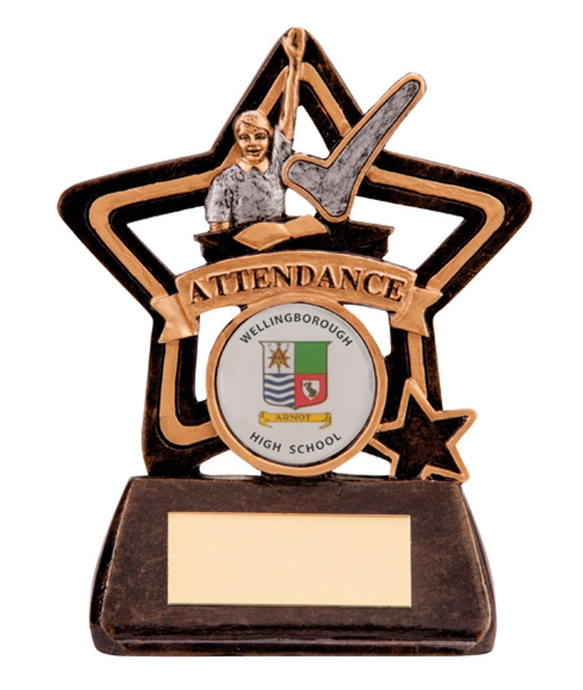Little Star Attendance Trophies