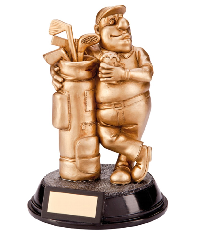 Resin Golf Beer Belly Trophies