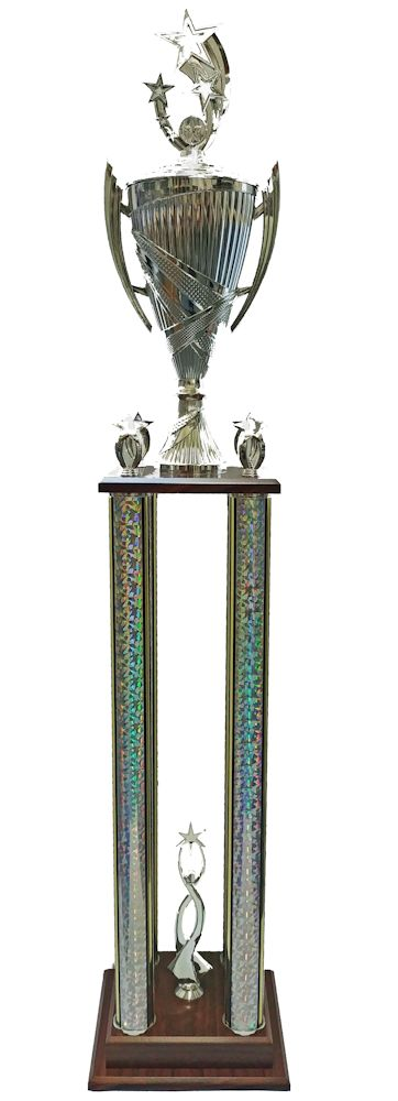 4 column 2 tier Trophies
