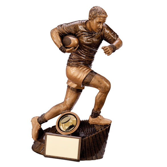 Resin Raider Rugby Figure Trophies