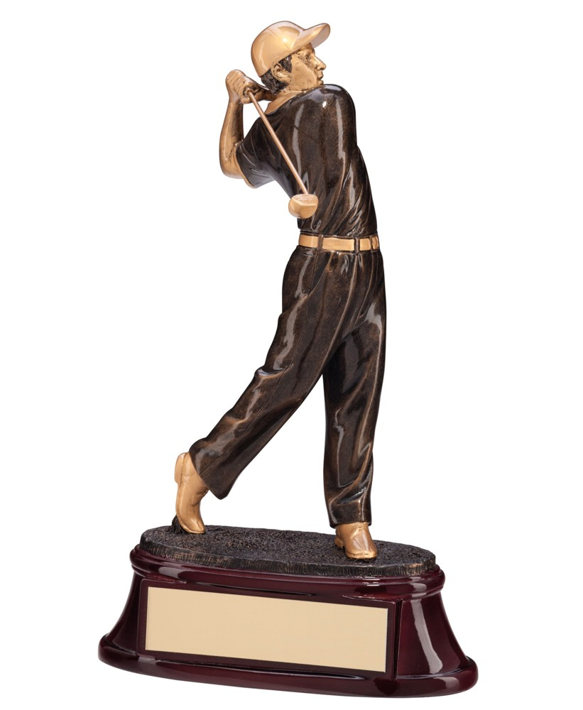 The Monument Heavy Resin Golf Figure Trophies