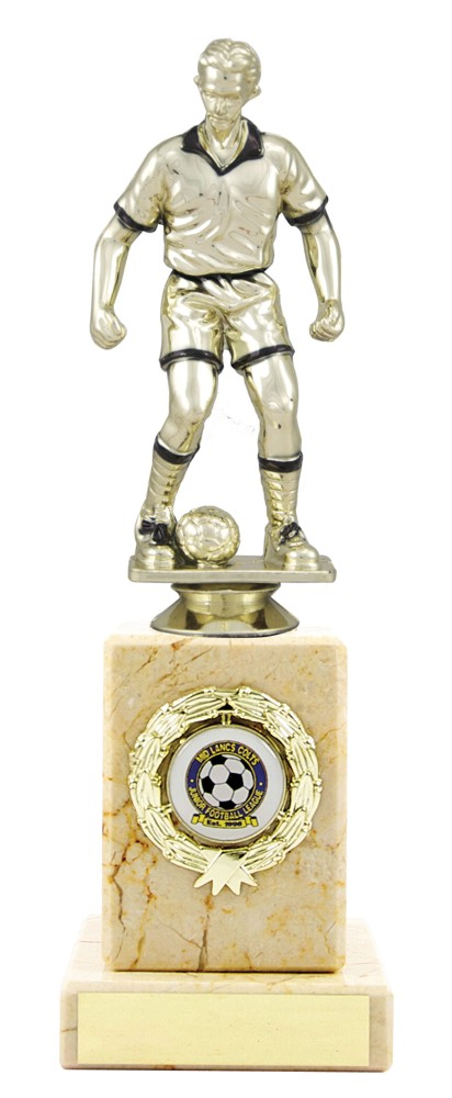 Gold Football Figure Trophies