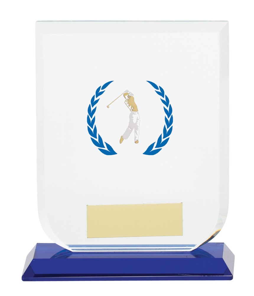 Gladiator Golf Premium Glass Trophies