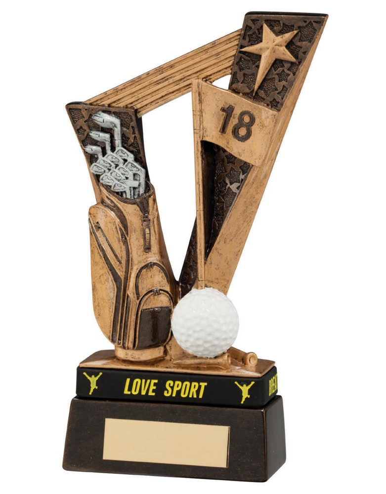 Victory Golf Bag Trophies