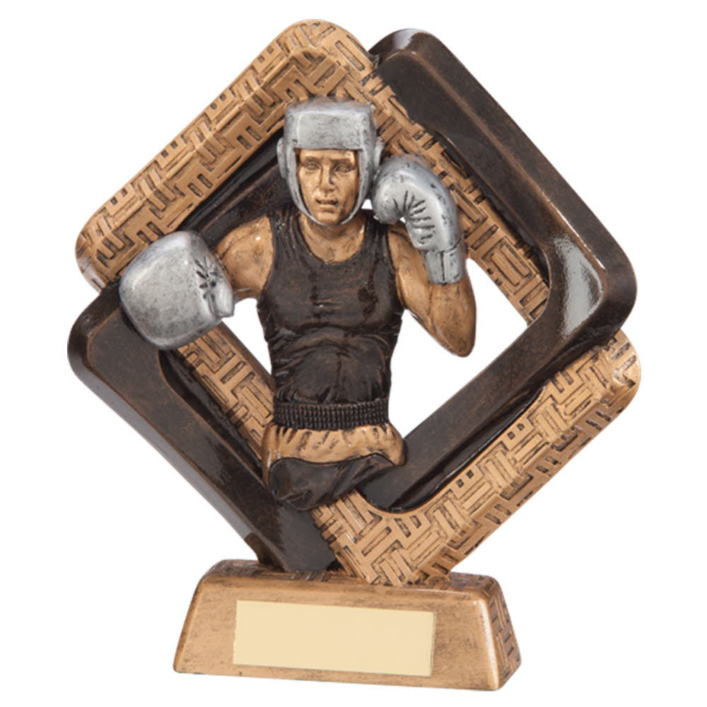 Resin Sporting Unity Boxing Trophies