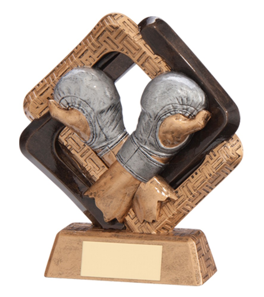 Resin Sporting Unity MMA Trophies