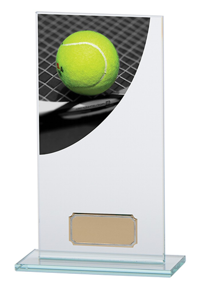Tennis Glass Plaques