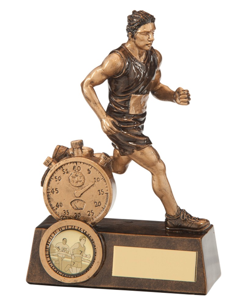 Resin Male Running Trophies