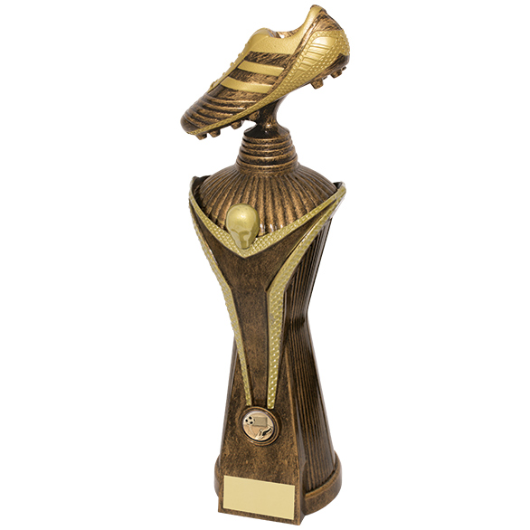 Bronze World Cup Victory Striker Football Trophies