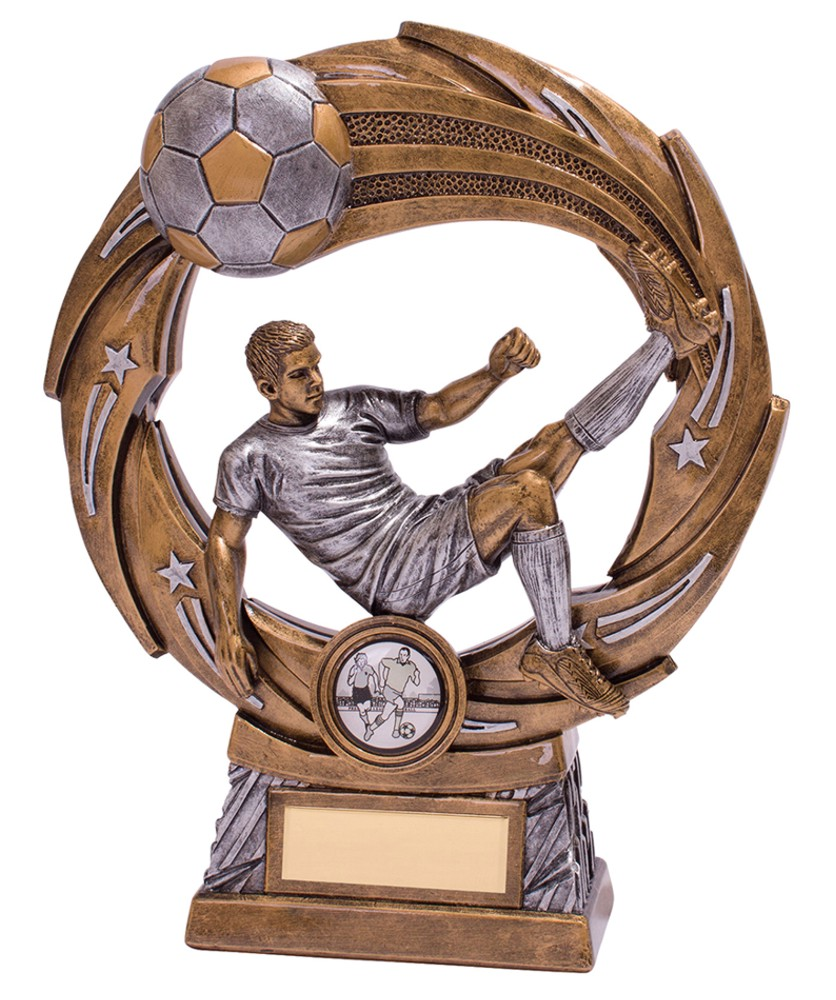 Supernova Resin Football Player Trophies