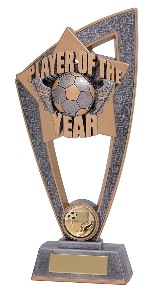 Star Blast Player of the Year Football Trophies