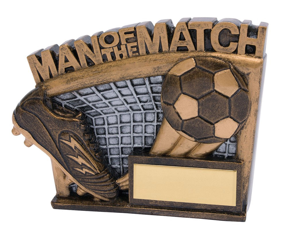 Man of the Match Agility Football Trophies