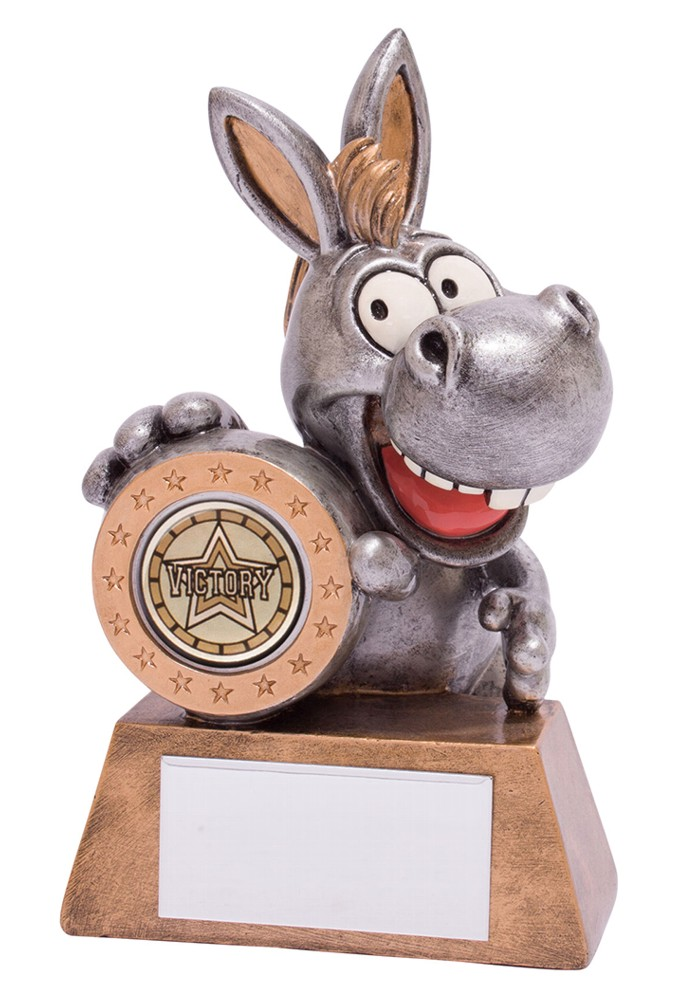Resin 'What a Donkey!' Achievement Trophies