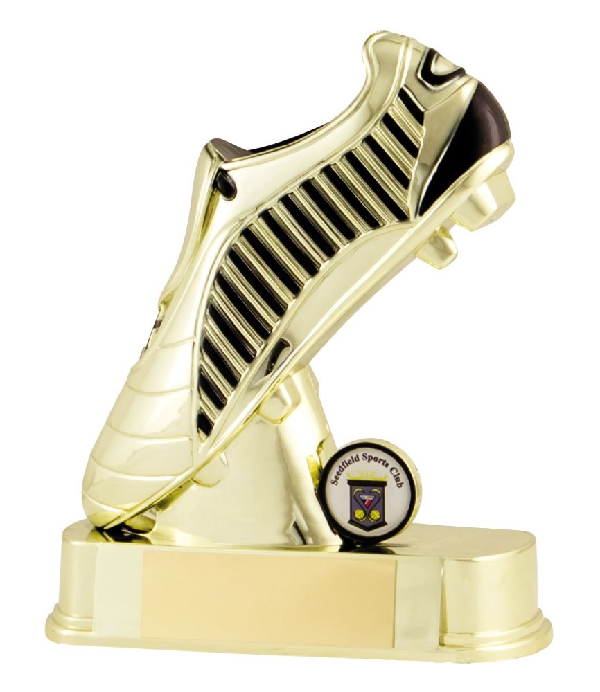 Gold Football Boot Trophies