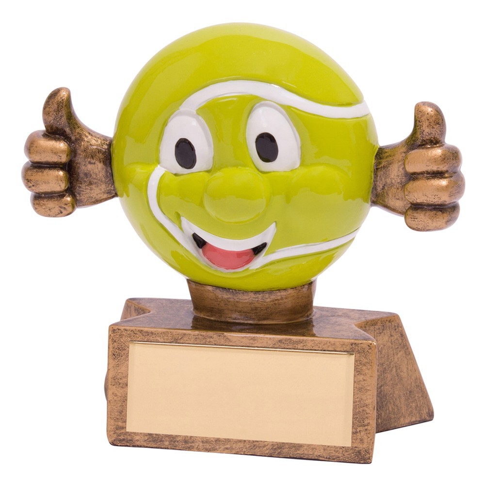 Smiler Tennis Ball Trophies