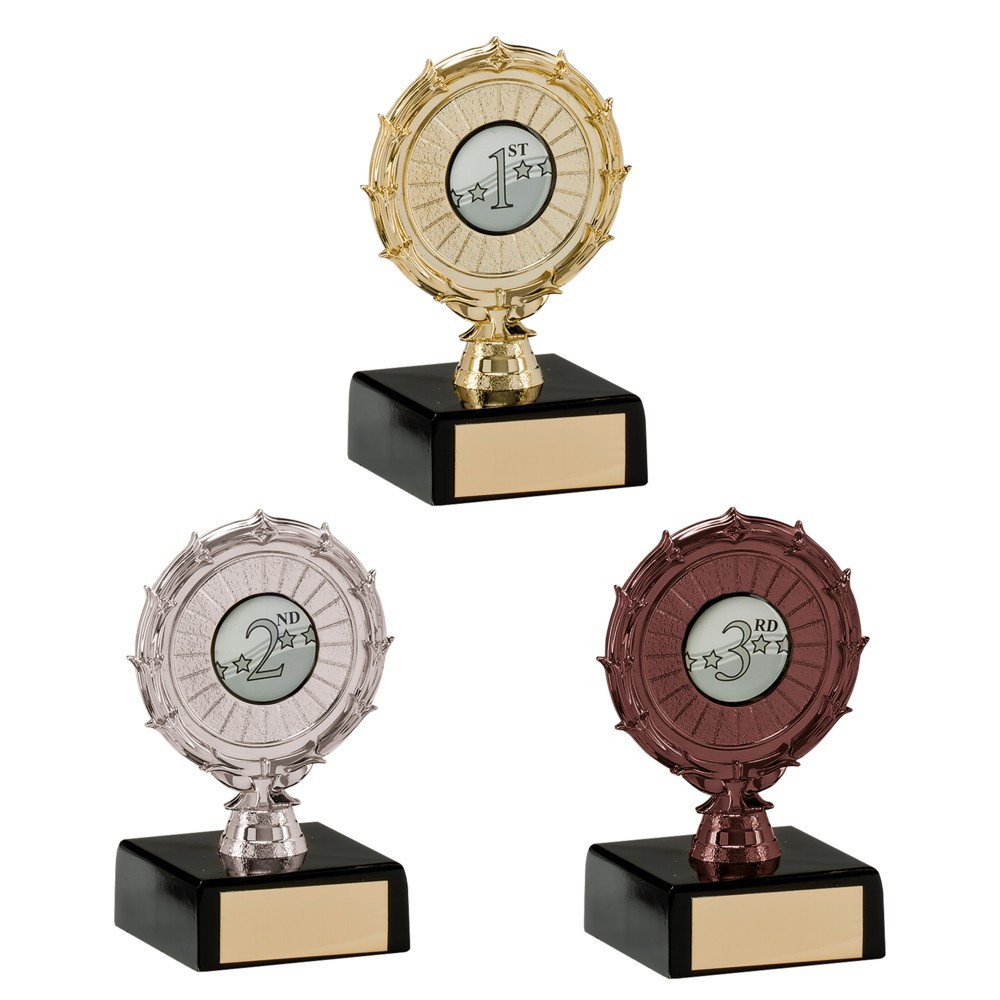 Multi Sport Spiral Achievement Trophies