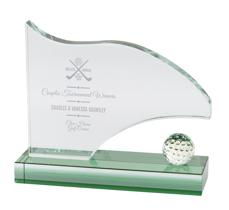 Royal Jade Golf Flag Trophies