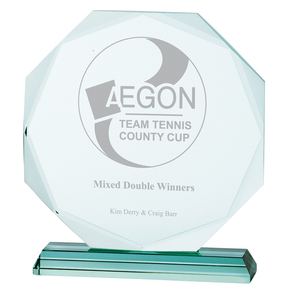 Engraved Aspire Jade Crystal Awards