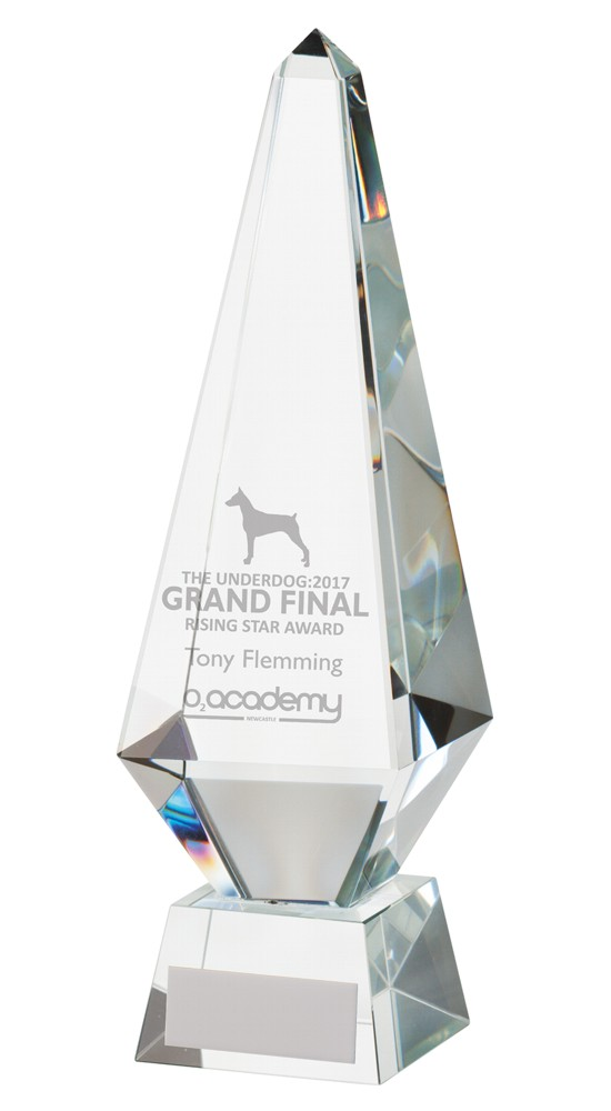 Crystal Monument Corporate Trophies
