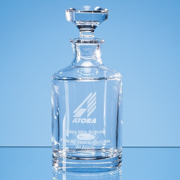 Lead Crystal Boris Spirit Decanter