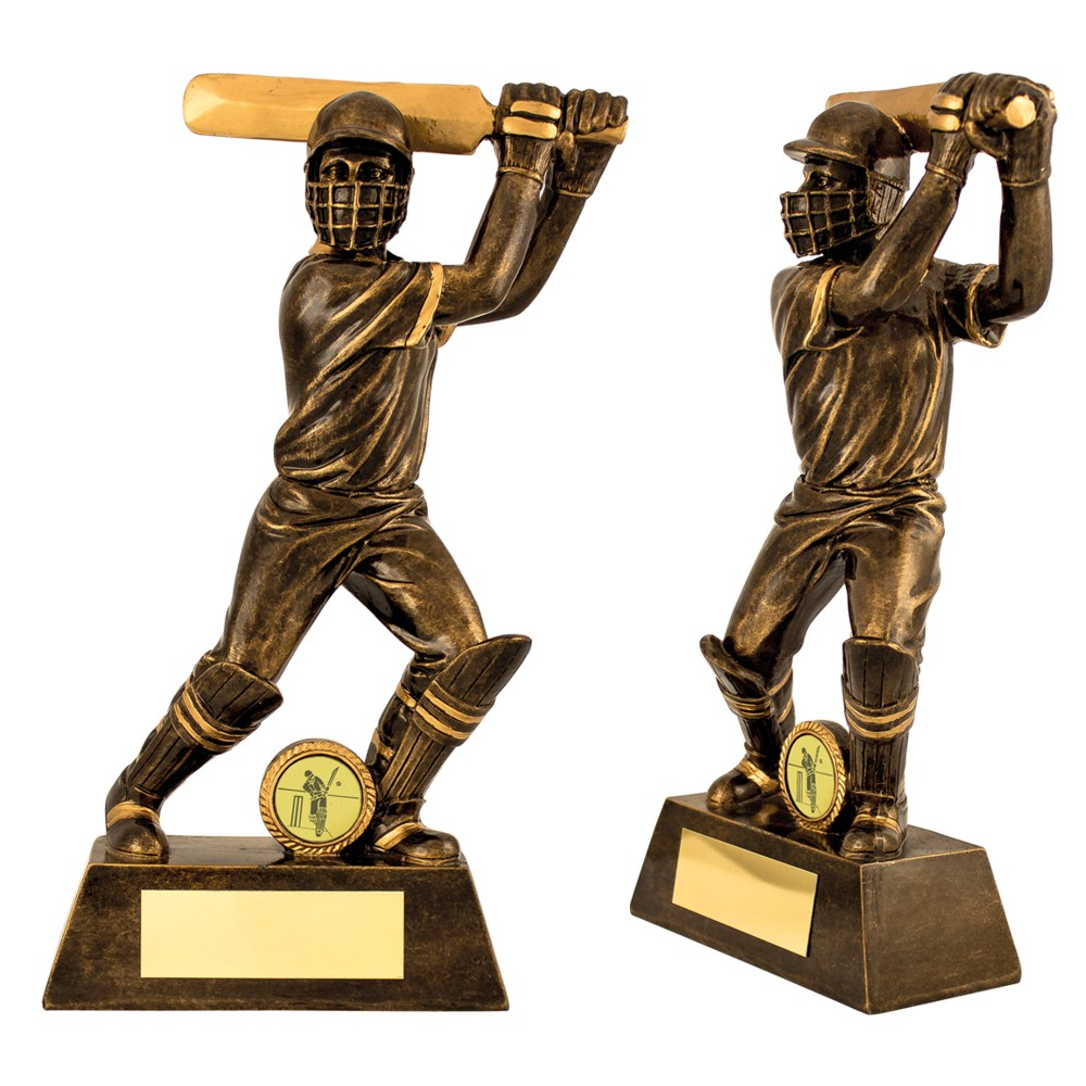 Cricket Batsman Figure Trophies