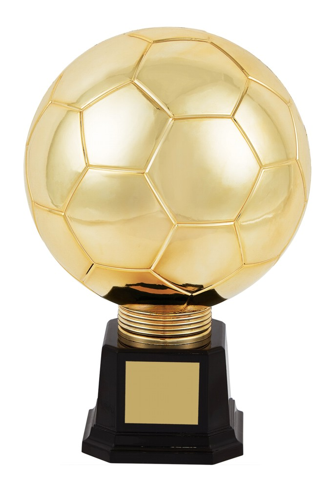 Gold Planet Football Legend Trophies