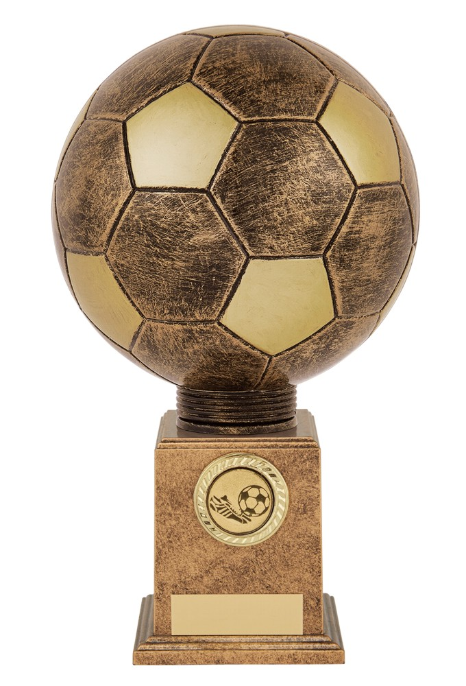 Bronze Planet Football Legend Trophies