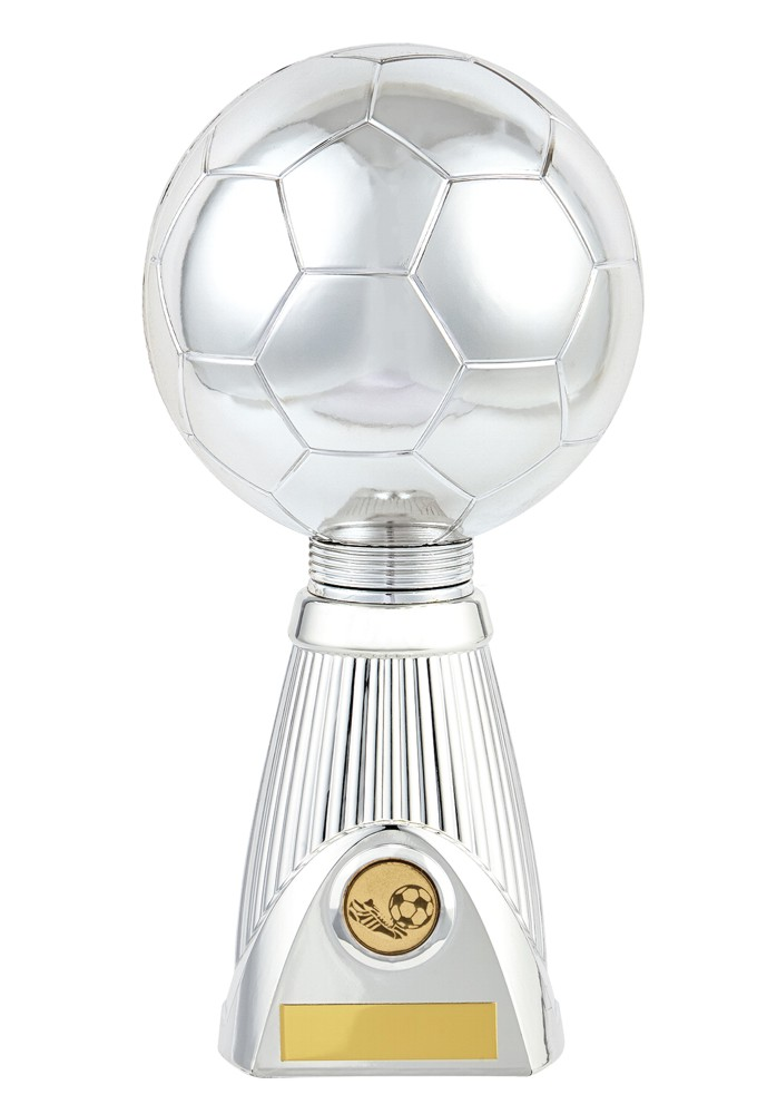 Silver Planet Football Deluxe Trophies