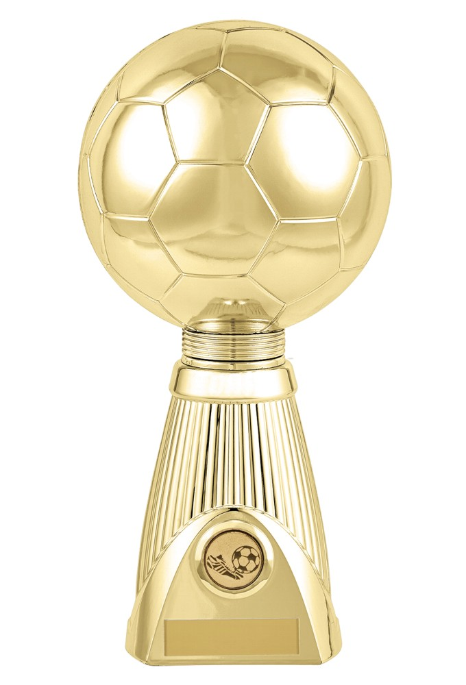 Gold Planet Football Deluxe Trophies