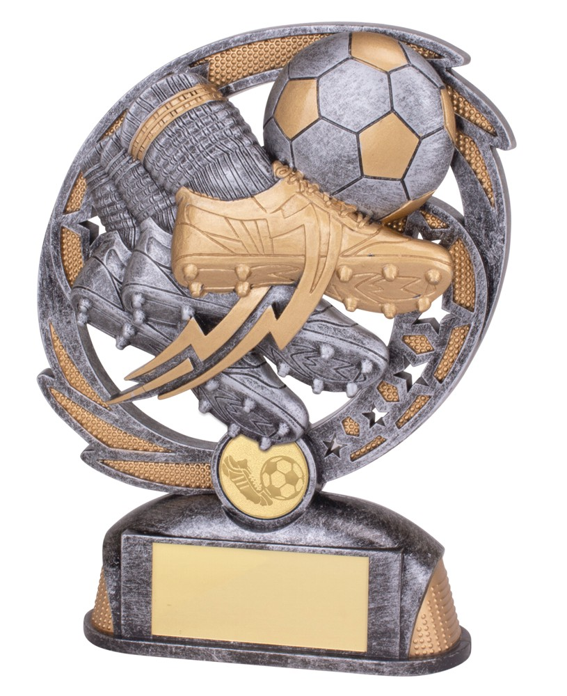 Sonic Boom Resin Football Boot Trophies