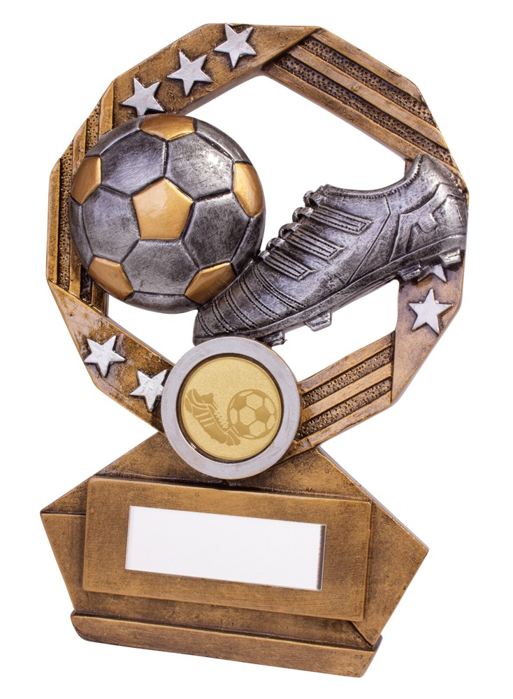 Enigma Football Boot and Ball Trophies