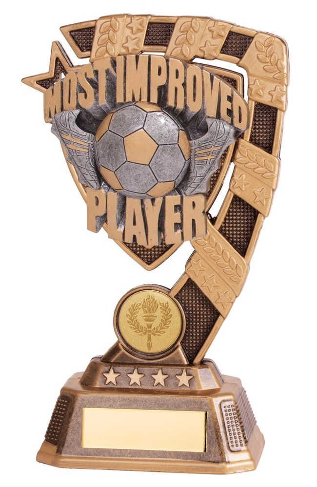 Euphoria Most Improved Player Football Trophies