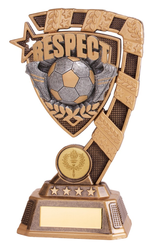 Euphoria Respect Football Trophies